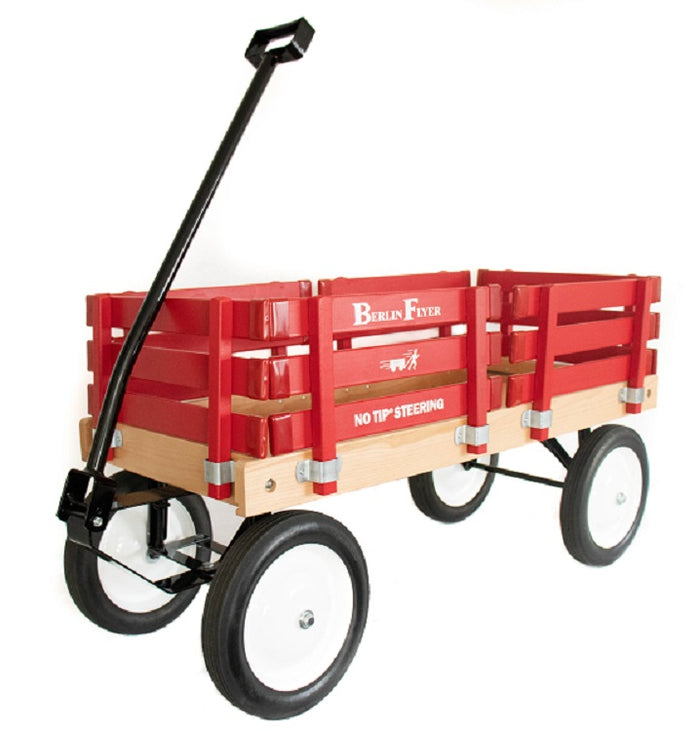 BERLIN FLYER CLASSIC WAGON - Amish Handmade in Bright Red