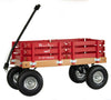 ALL TERRAIN BERLIN FLYER WAGON - Beach Garden Cart in Bright Classic Red AMISH USA