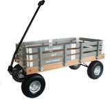 ALL TERRAIN UTILITY WAGON - Beach Garden Cart in Bright Gray AMISH USA
