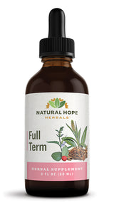 FULL TERM - Uterine Support Herbal Extract Tincture Tonic