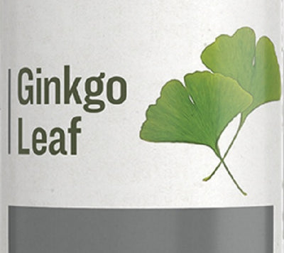 GINKGO LEAF - Healthy Brain Concentration & Circulation Support