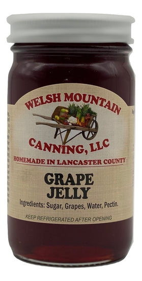 GRAPE JELLY - Amish Homemade Fruit Spread USA