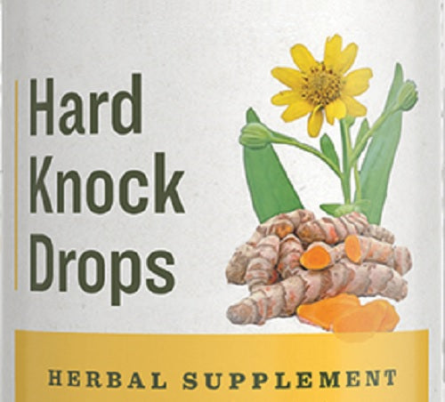 HARD KNOCK DROPS - Custom Herbal Formula for Minor Pain Relief