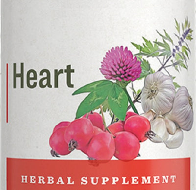 HEART FORMULA - 7 Herb Blend Circulatory Tonic Supplement