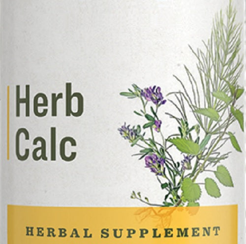 HERB CALCIUM - 7 Herb Tincture for Nervous & Musculoskeletal System Health