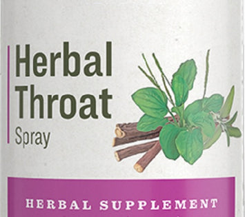 HERBAL THROAT SPRAY - Cooling Moistening Immune Support