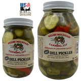HOT DILL PICKLES - The Classic with a Bite & No Added Sugar