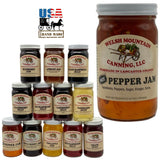 HOT PEPPER JAM - Amish Homemade Spicy Spread USA