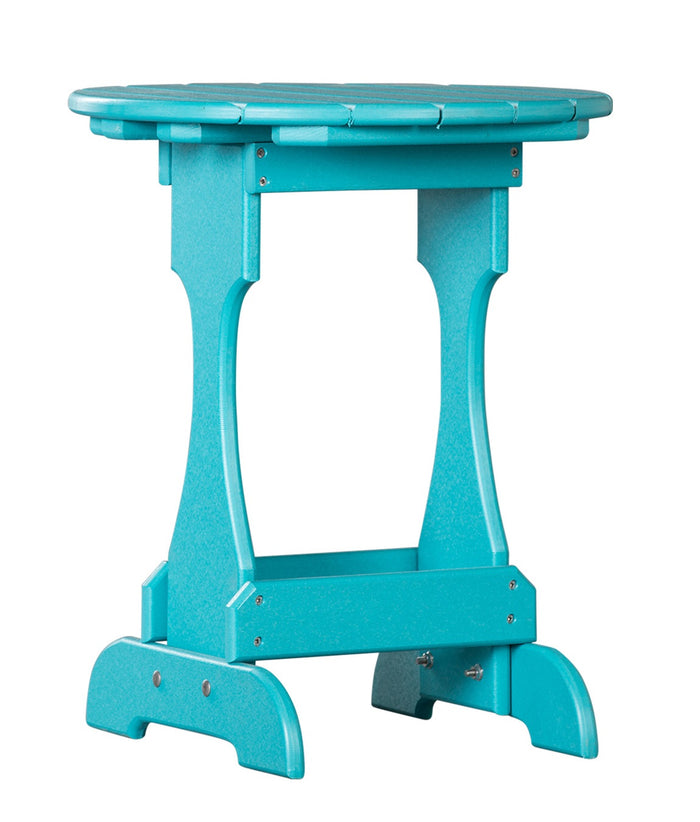 4 SEASON CANDY TABLE - Maintenace Free Poly Outdoor Side Stand in 19 Colors