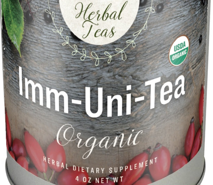 IMM-UNI-TEA USDA Certified Organic Herbal Blend for Immune System Support