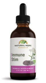 IMMUNE STIM - Potent 8 Synergistic Herb Immune System Support