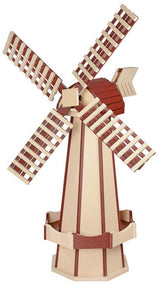 6½ FOOT JUMBO POLY WINDMILL - Dutch Garden Weather Vane in 22 Colors USA