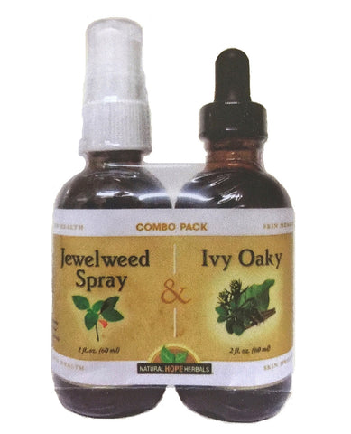 HEALTHY SKIN SUPPORT COMBO PACK - IVY OAKY TINCTURE & JEWELWEED SPRAY