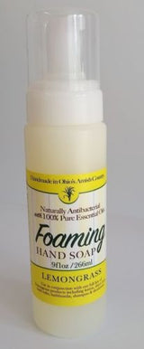 LEMONGRASS Foaming Hand Soap & Sanitizer ~ Natural Anti-Bacterial with 100% Pure Essential Oils
