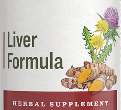 LIVER FORMULA - Milk Thistle Dandelion Turmeric & More Herbal Tincture