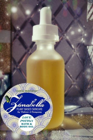 LOVE POTION BATH & BODY OIL - Organic Blend for Silky Soft Skin