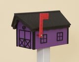HORSE BARN POLY MAILBOX ~ Amish Handmade Durable Weatherproof ~ Many Color Options