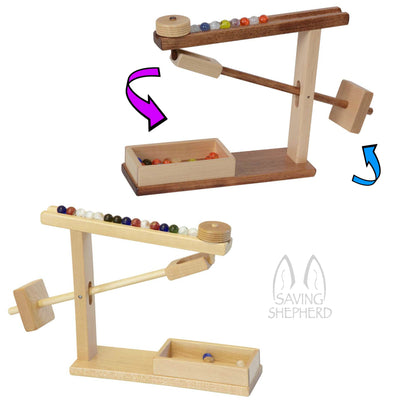 MARBLE MACHINE - Working Mechanical Wood Toy Amish Handmade Game