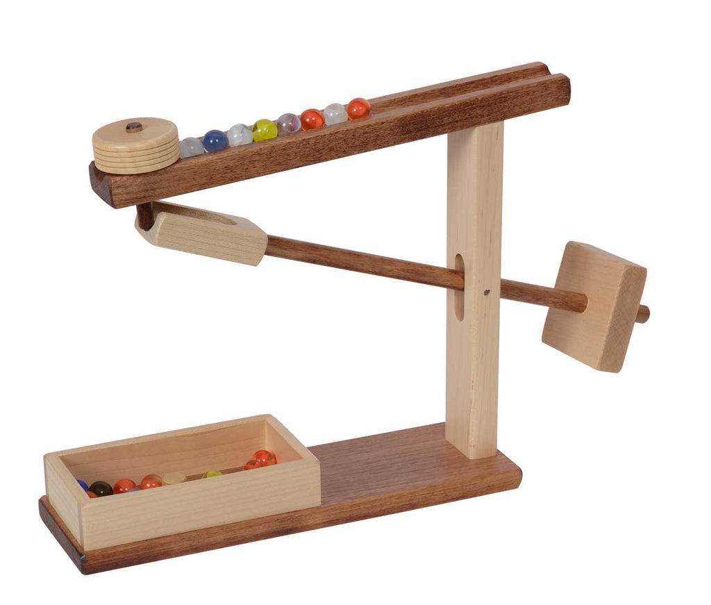 Marble Machine Working Mechanical Wood Toy Amish