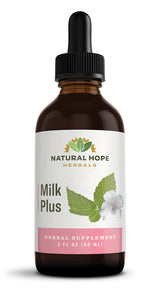 MILK PLUS FORMULA - Tonic & Nutrient Rich Herbal Blend Nursing Support