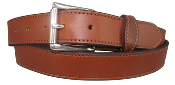 BROWN MONEY BELT - English Bridle Leather Concealed 16