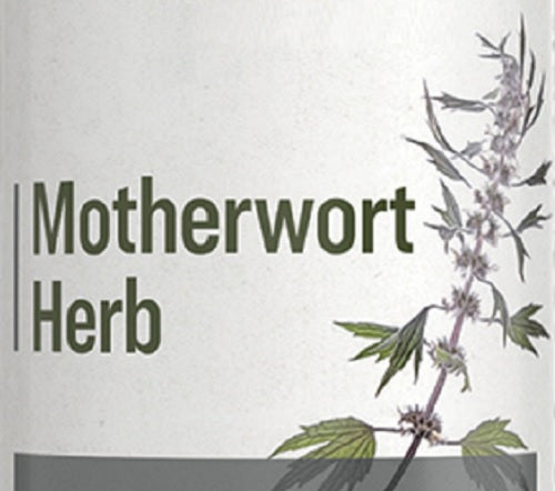 MOTHERWORT HERB - Liver, Hormonal & Nervous System Support Tonic