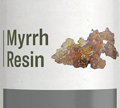 MYRRH RESIN - Potent Immune System Support Tincture