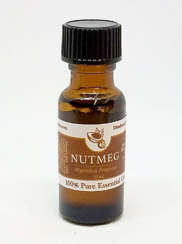 NUTMEG Essential Oil - 100% Pure Aromatherapy for Mind & Body