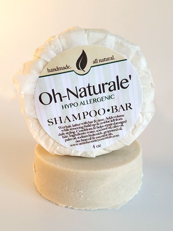 Oh Naturalé Hypo-Allergenic Shampoo Bar ~ All Natural Handmade in the USA