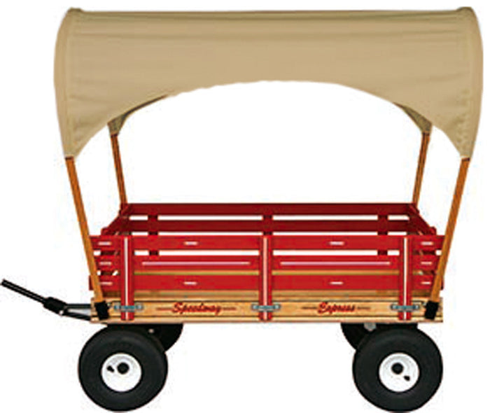 Amish Sun Shade covered Wagon Made in USA Red Pink Green Blue