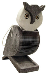 OWL BIRD FEEDER - Large & Bright Seed Feeder