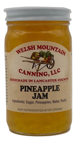 PINEAPPLE JAM - Amish Homemade Fruit Spread