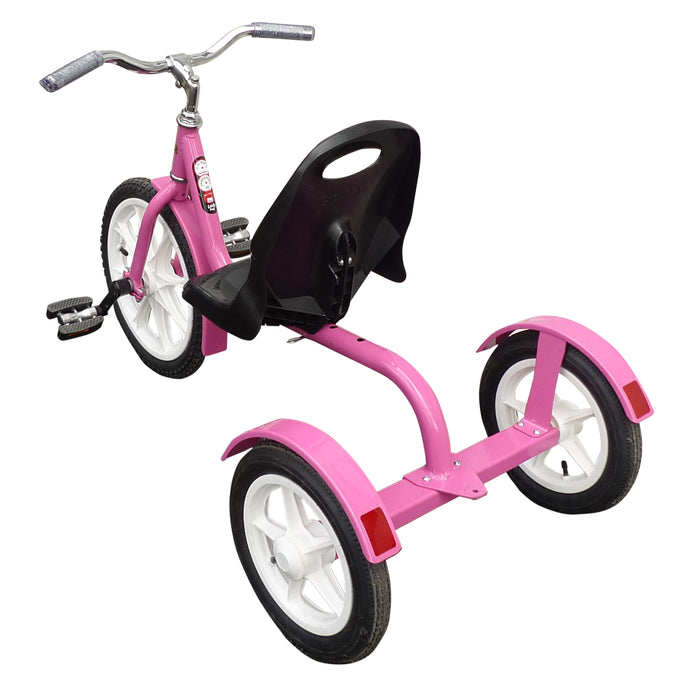 LADY BUG CHOPPER - Bright Pink Amish Handcrafted Girls' Tricycle