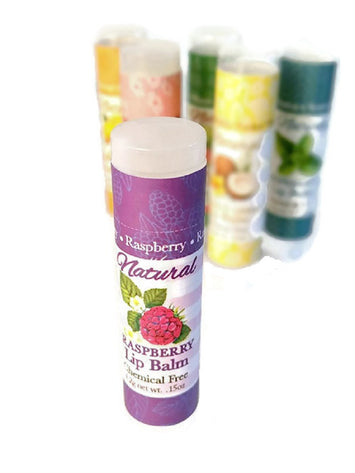 RASPBERRY LIP BALM ~ All Natural & Handmade in the USA 4.2g