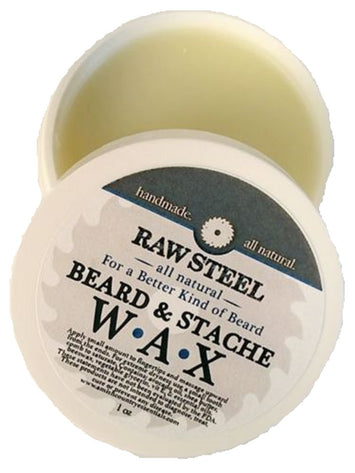 All Natural Beard Mustache Conditioner Wax Handmade