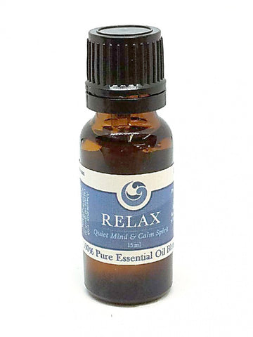 """RELAX"" - Pure Essential Oil Blend to Help Quiet the Mind & Calm the Nerves"