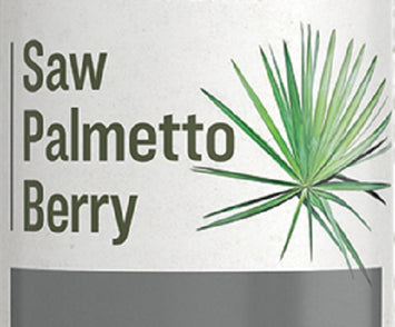SAW PALMETTO BERRY - Immune System & Urinary Tract Support Tonic