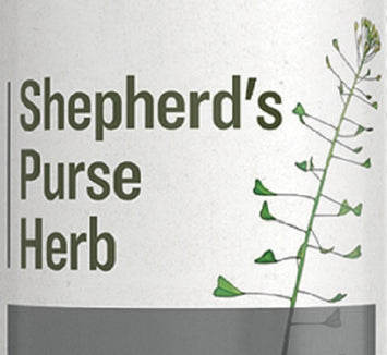 SHEPHERD'S PURSE HERB - Cardiovascular & Women's Health Single Extract Tincture