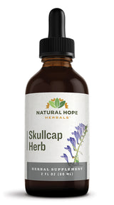SKULLCAP HERB - Muscle Tension, Stress & Sleep Support Herbal Tincture