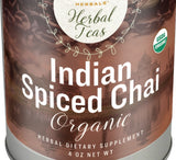 INDIAN SPICED CHAI TEA - USDA Certified Organic Herbal Blend Teas