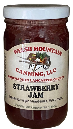 STRAWBERRY JAM - Amish Homemade Fresh Fruit Spread