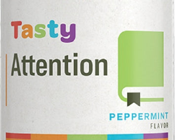 Children's TASTY ATTENTION Peppermint Flavor Herbal Formula Supplement
