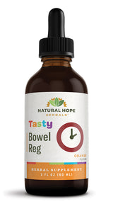 TASTY BOWEL REG Gentle Orange Flavor Herbal Tincture Formula