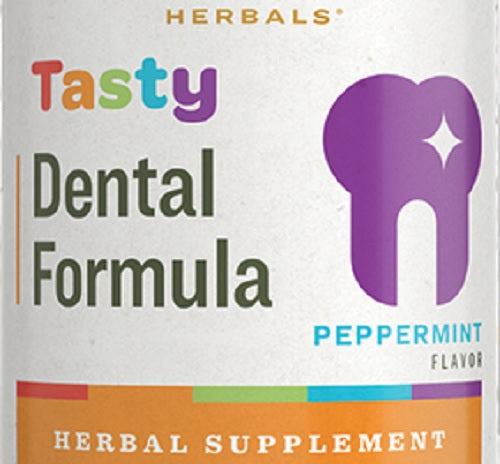 TASTY DENTAL FORMULA Black Walnut Hull with Natural Peppermint Leaf Flavor