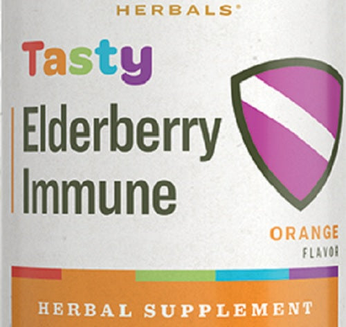 TASTY ELDERBERRY - Orange Flavor Immune System Support Herbal Tonic