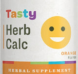 TASTY HERB CALCIUM - Herbal Nerve Tonic with Ginger & Organic Orange