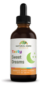 TASTY SWEET DREAMS - All Natural Gentle Herbal Blend Tincture