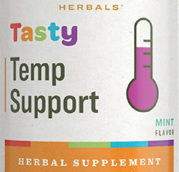 TASTY TEMP SUPPORT - Mint Flavor Herbal Tincture Immune Formula