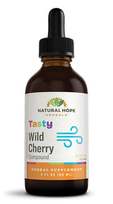 TASTY WILD CHERRY COMPOUND - Citrus Flavor 8 Herb Respiratory Health Support