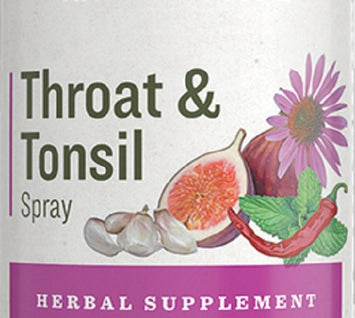 THROAT & TONSIL SPRAY - Echinacea Garlic & Cayenne Herbal Immune Support